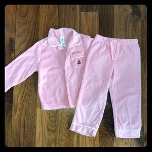 GAP Toddler Girl Fleece Pajama Set